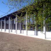 Neubau der gläsernen Meierei 2011