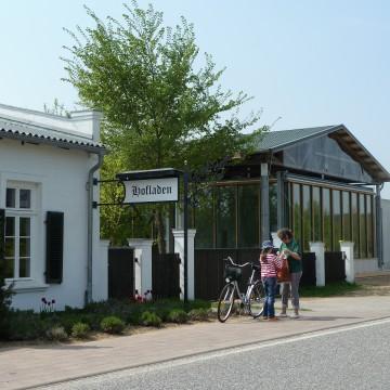 Täglich für Sie geöffnet: unser Hofladen direkt neben der gläsernen Meierei