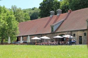 Außenansicht Klostercafé