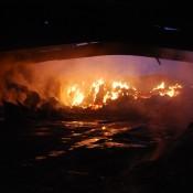 Ein Großbrand vernichtete 2014 zwei große Lagersilos