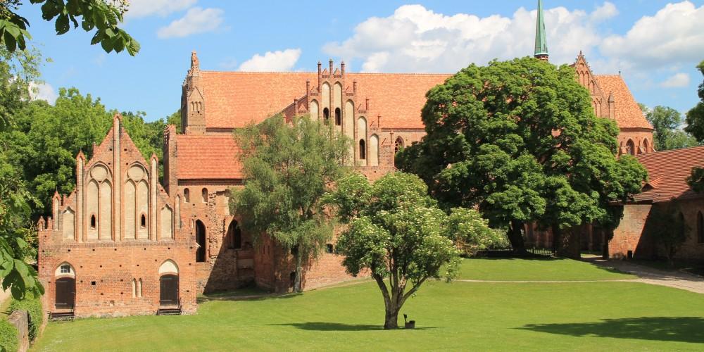 Blick auf das Kloster Chorin