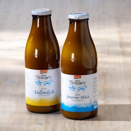 Milchflaschen-Flaschen
