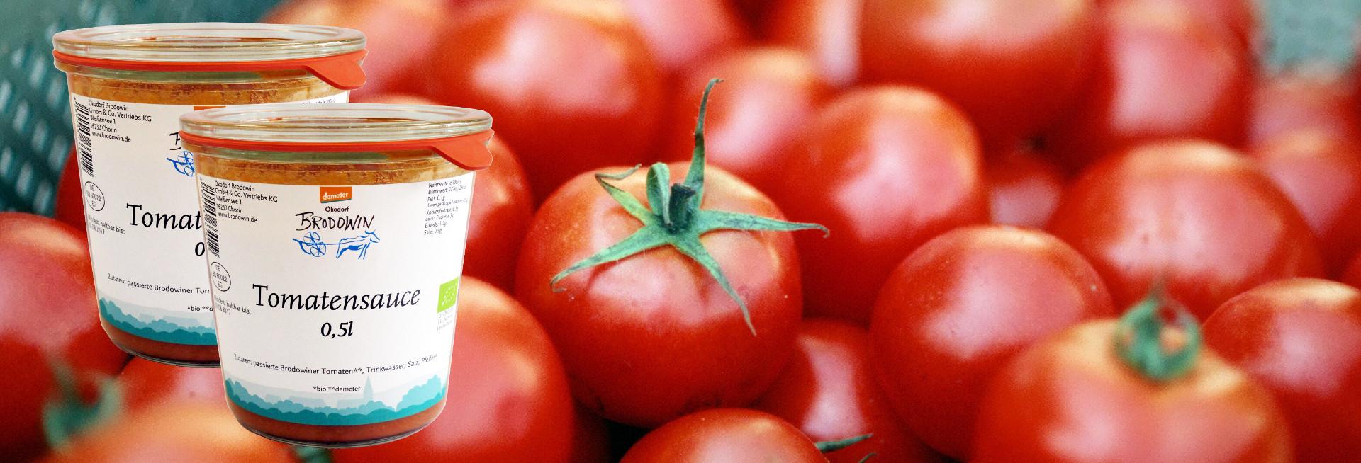 Tomatensauce Titel
